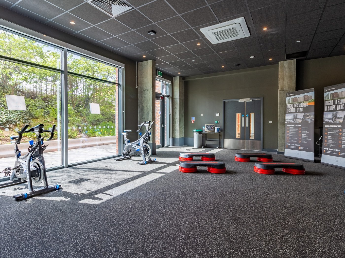 Fitness Room in Hythe Mills