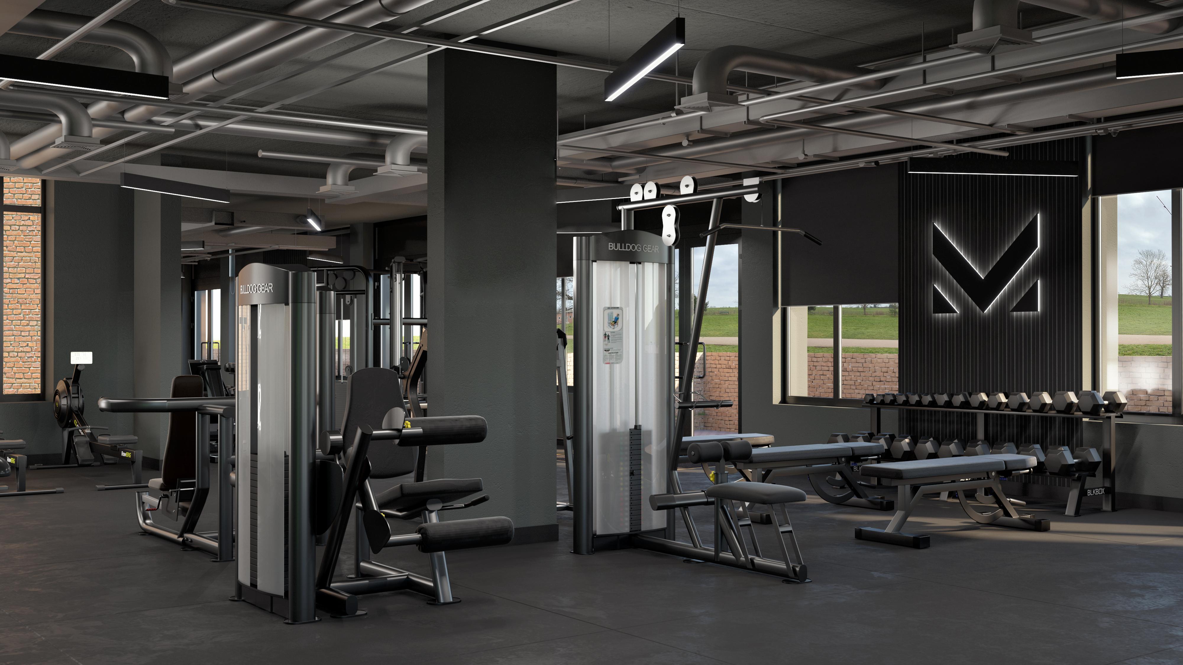 student-accommodation-guildford-guilden-park-gym-2