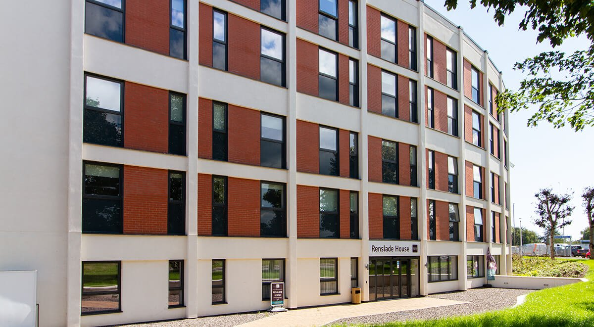 Exterior Renslade House Exeter