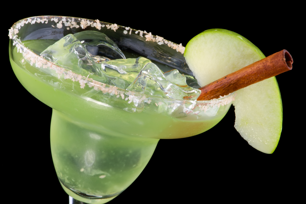 Frozen Apple Margarita easy mocktails