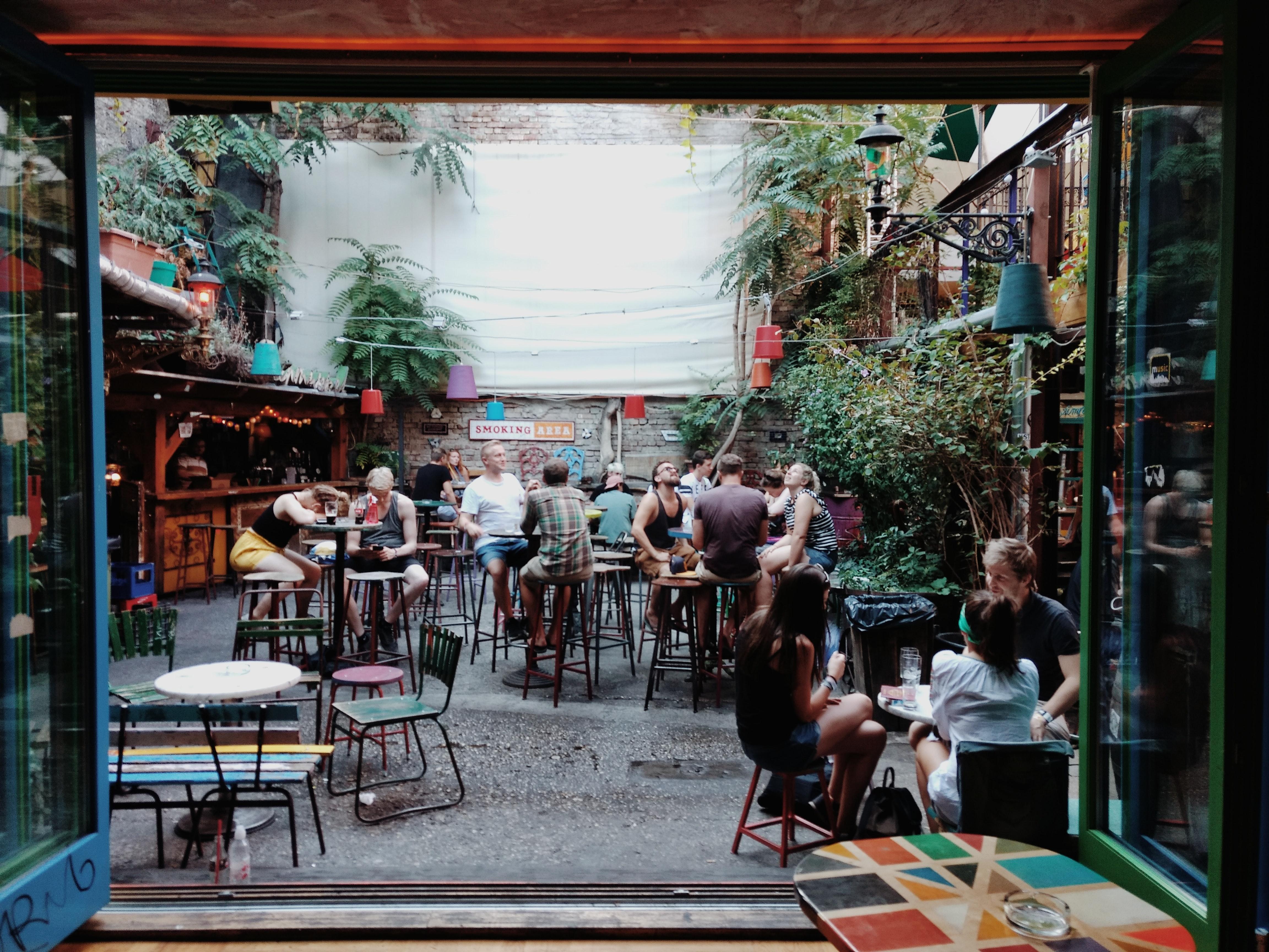 beer garden for students in dundee