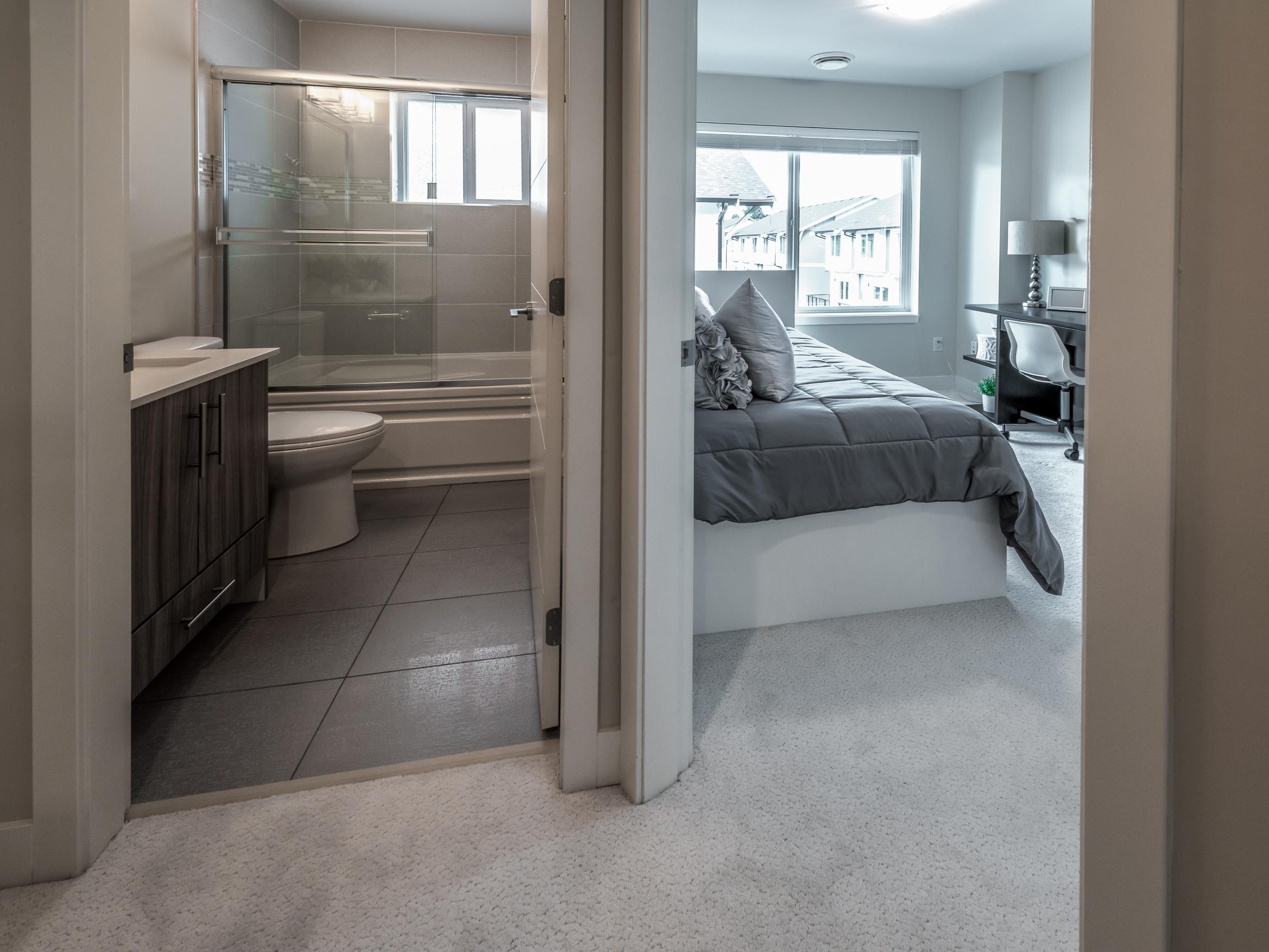 bathroom for university bedroom