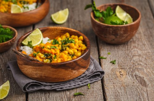chickpea curry easy vegetarian student recipes