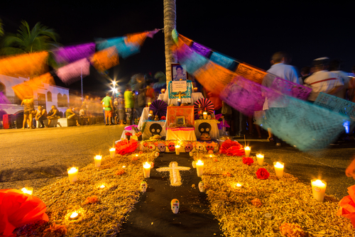 layout of the day of the dead
